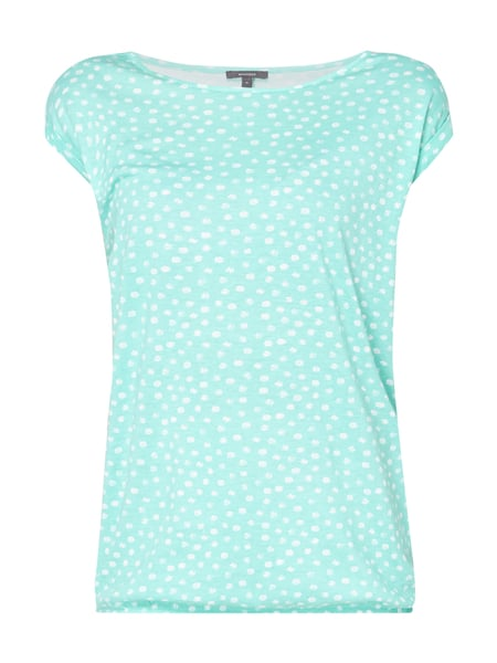 Montego Shirt mit Allover-Muster Mint