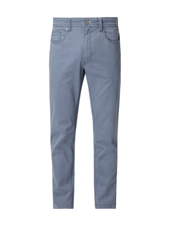 Montego Straight Fit 5-Pocket-Hose Blau / Türkis - 1