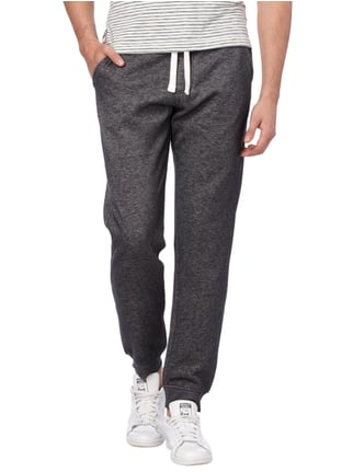 Montego Sweatpants in Melangeoptik Anthrazit meliert - 1
