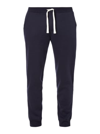 Sweatpants in Melangeoptik Blau / Türkis - 1