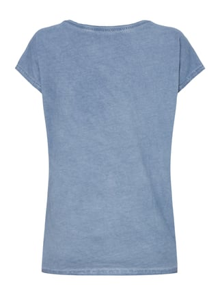 Montego T-Shirt im Washed Out Look Rauchblau - 1