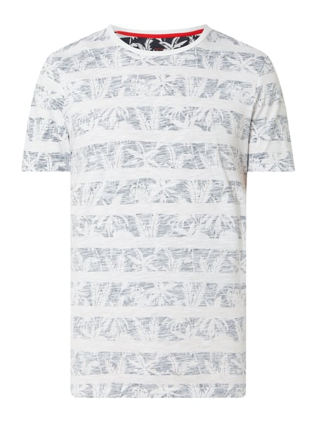 Montego T-Shirt mit Inside-Out-Print Blau - 1