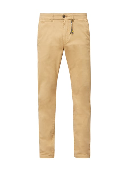 Montego Tapered Fit Chino mit Stretch-Anteil Gelb - 1