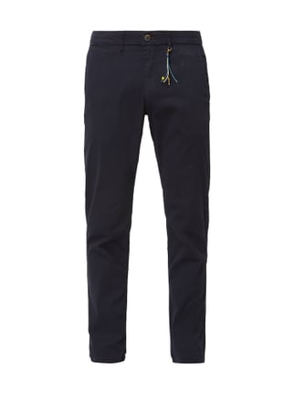 Montego Tapered Fit Chino mit Stretch-Anteil Blau   Türkis - 1 ... 77f238b74c