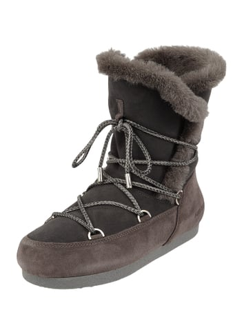 Moon Boot Moonboots aus Shearling Grau - 1