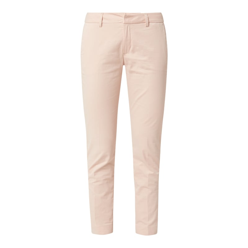 Ankle cut chino met stretch, model Abbey