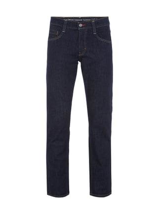 Slim Fit Jeans mit Stretch-Anteil Blau / Türkis - 1