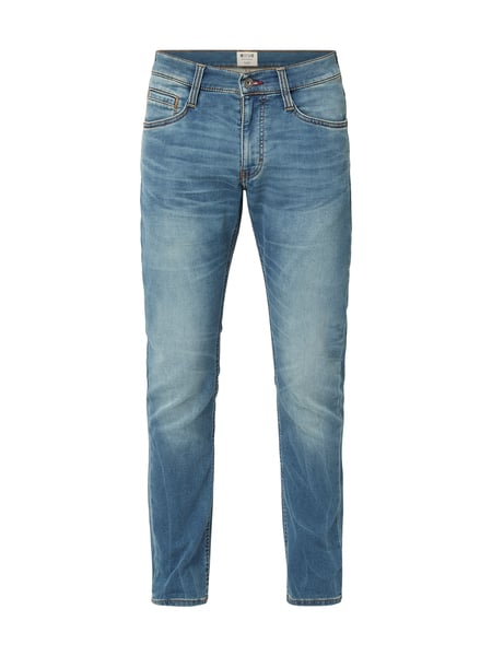 Mustang – Stone Washed Tapered Fit Jeans – Jeans
