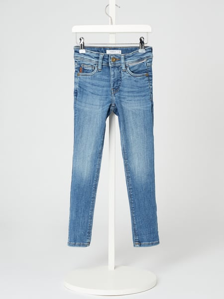 Name It Jeans mit Stretch-Anteil Modell 'Theo' Blau - 1
