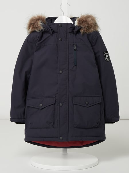 Name It Parka mit Wattierung Modell 'Mibis' Blau - 1