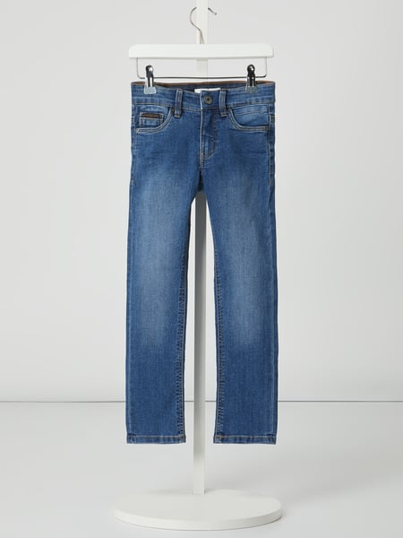 Name It Skinny Fit Jeans mit Stretch-Anteil Modell 'Theo' Blau - 1