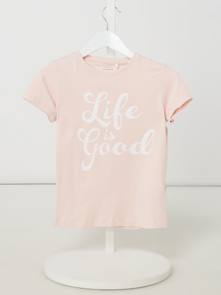 Name It T-Shirt mit Print Modell 'Vulea' Rosa - 1
