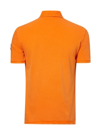 Napapijri Poloshirt mit Logo-Stickerei Orange - 1
