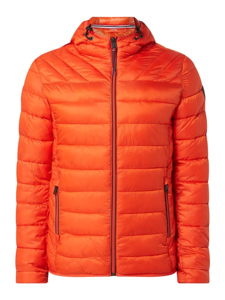 Napapijri Regular Fit Steppjacke mit Kapuze Orange - 1