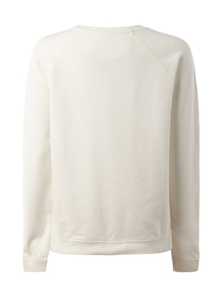 Napapijri Sweatshirt im Washed Out-Look Offwhite - 1