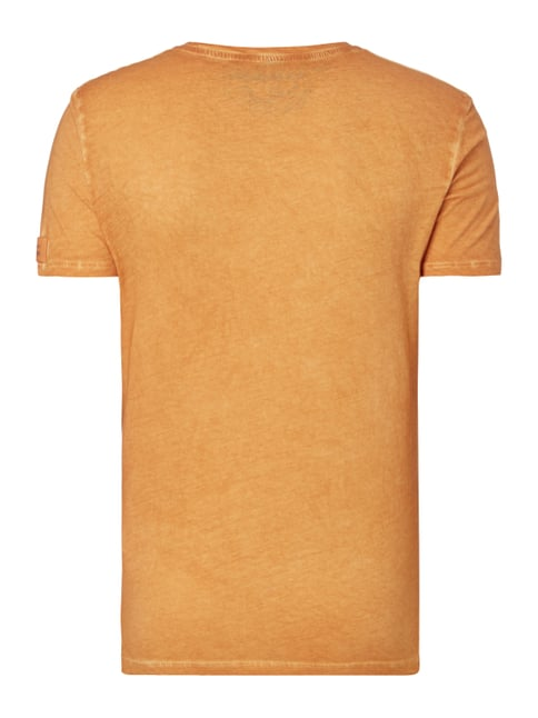 Napapijri T-Shirt im Washed Out Look Apricot - 1