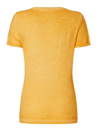 Napapijri T-Shirt im Washed Out Look Orange - 1