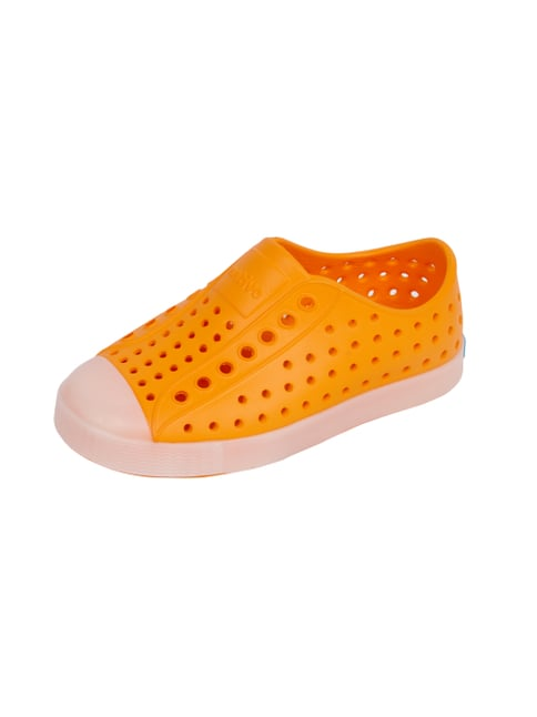 Slip-On Sneaker mit leuchtender Sohle Orange - 1
