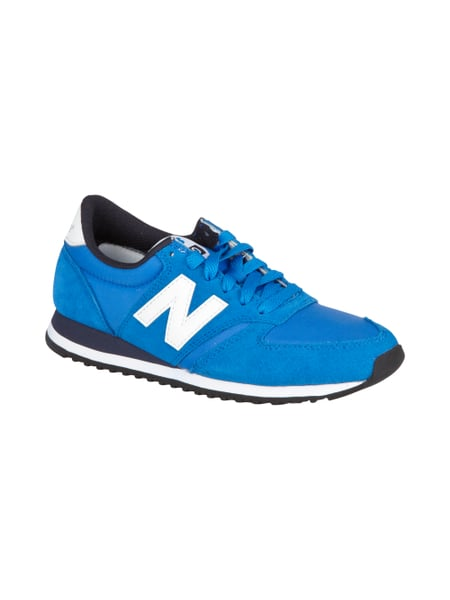 New Balance Sneakers mit Besatz in Leder-Optik Blau / Türkis - 1