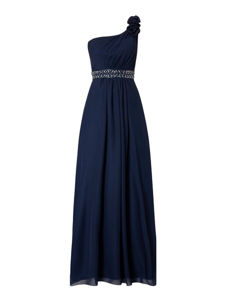 Niente abendkleid one shoulder