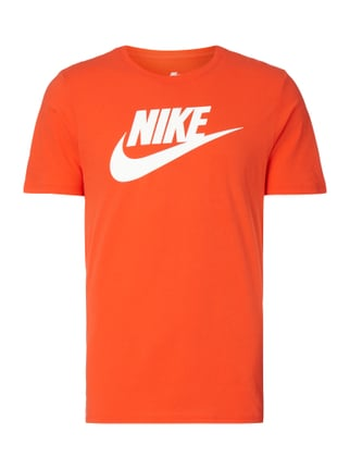 Athletic Cut T-Shirt mit Logo-Print Orange - 1