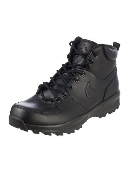 Nike Manoa Leather - High Top Sneaker 'Manoa' aus Leder Schwarz