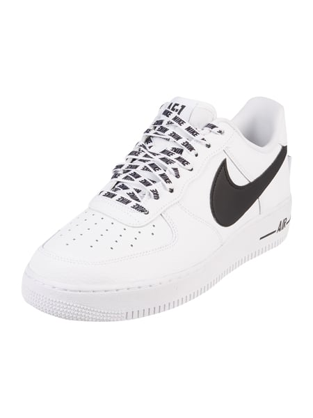 nike sneaker 39 air force 1 39 07 39 aus leder in wei online. Black Bedroom Furniture Sets. Home Design Ideas