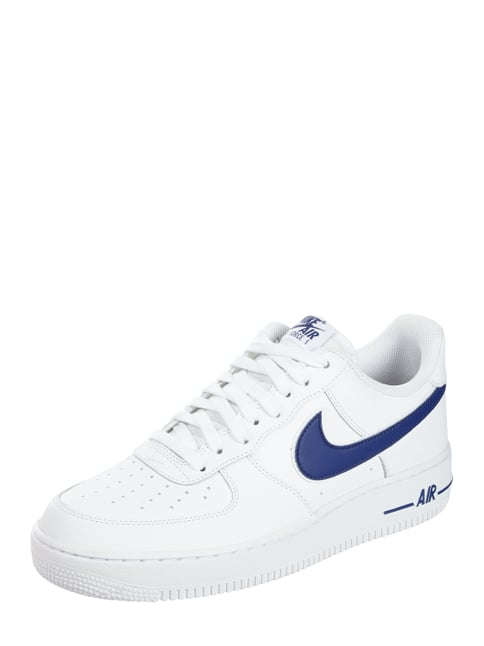 big sale 2bb84 637a9 Nike Sneaker  Air Force 1  07  aus Leder Weiß ...