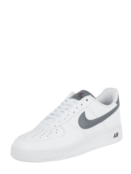on sale 168b6 06e35 Nike Sneaker  Air Force 1  07 LV8  aus Leder Weiß - 1