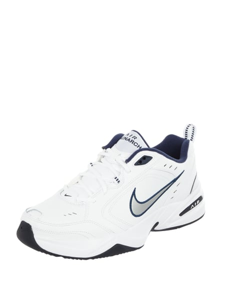 Nike – Sneaker 'Air Monarch IV' aus Leder – Weiß