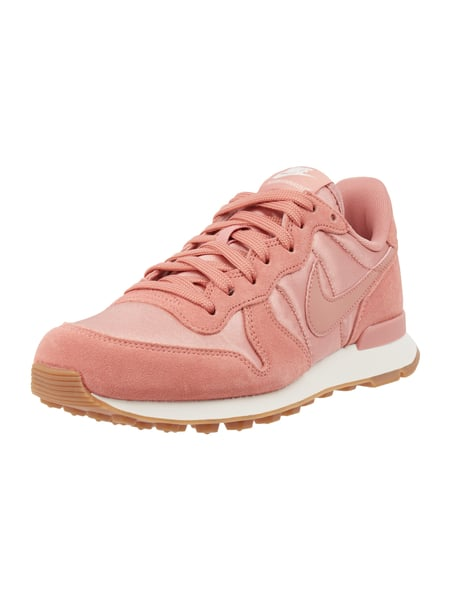Sneaker 'Internationalist' aus Veloursleder Rosé - 1