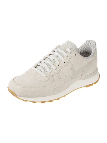 Nike Sneaker 'Internationalist SE' in Velourslederoptik Beige - 1