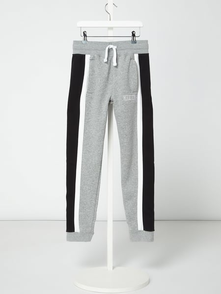 Nike Standard Fit Sweatpants in Melange-Optik Grau - 1