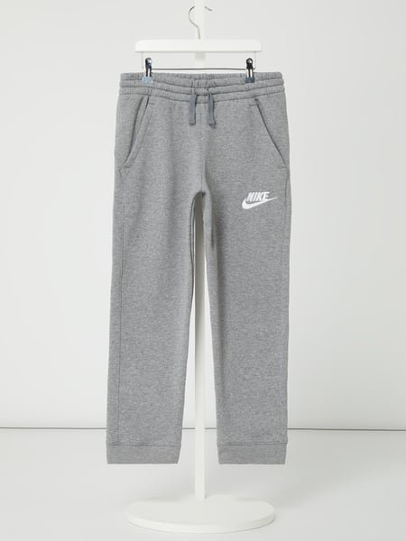 Nike Sweatpants mit Logo-Stickerei Grau - 1