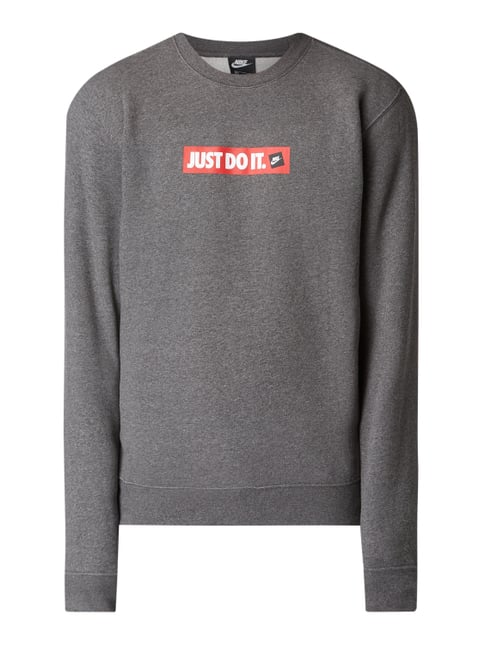 competitive price 362c5 6a060 Sweatshirt mit Logo-Print