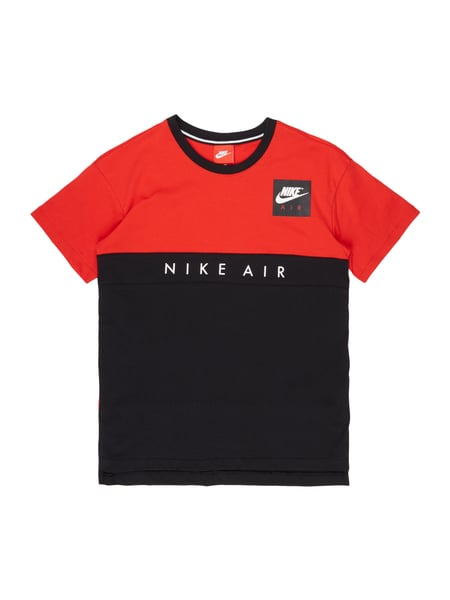 nike t shirt mit logo prints in rot online kaufen 9749458. Black Bedroom Furniture Sets. Home Design Ideas