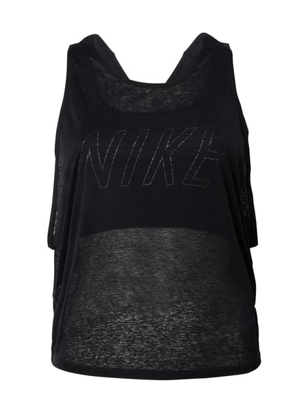 low priced 7c390 9faf2 NIKE Top mit eingearbeitetem Bustier - Dri-FIT in Grau ...