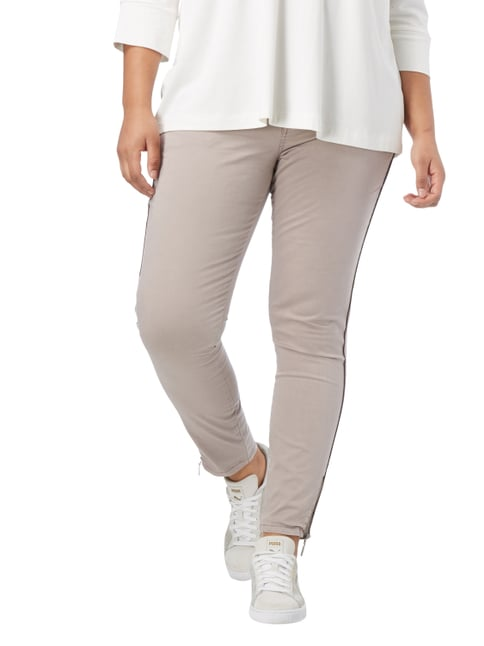 No Secret PLUS SIZE - Chino mit Stretch-Anteil Beige - 1