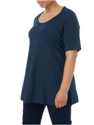 No Secret PLUS SIZE - Longshirt aus Jersey Marineblau - 1