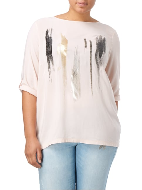 No Secret PLUS SIZE - Shirt mit Print Rosé - 1