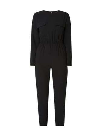 Noisy May Jumpsuit mit Cut Out Schwarz - 1