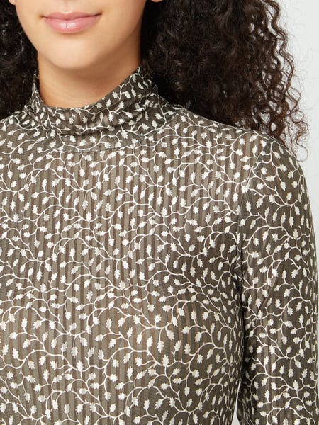OBJECT Shirt mit Allover-Muster Modell