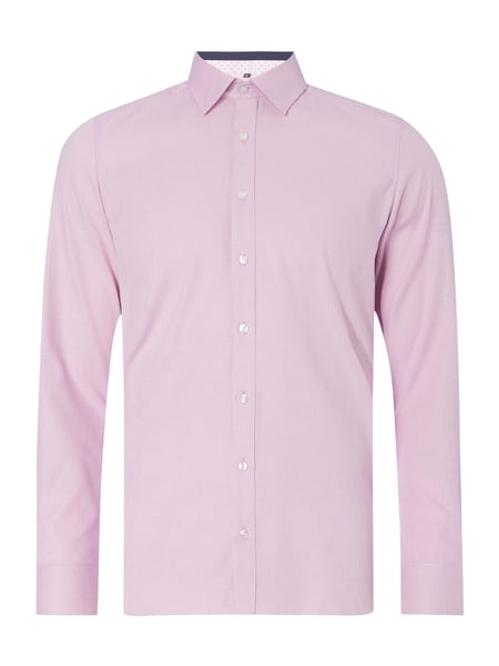 a7c1d35184c9 OLYMP-LEVEL-FIVE Body Fit Business-Hemd mit Webmuster in Rosé online ...