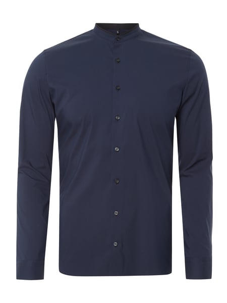 OLYMP No. Six Super Slim Fit Business-Hemd Marineblau