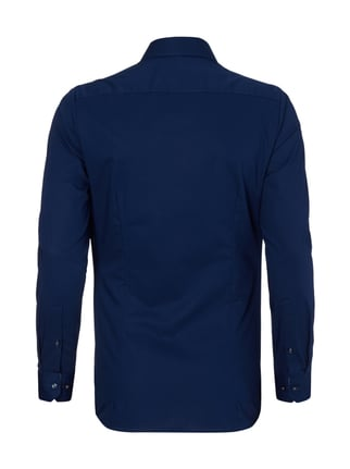 OLYMP No.6 Super Slim Fit Business-Hemd mit Kentkragen Marineblau - 1