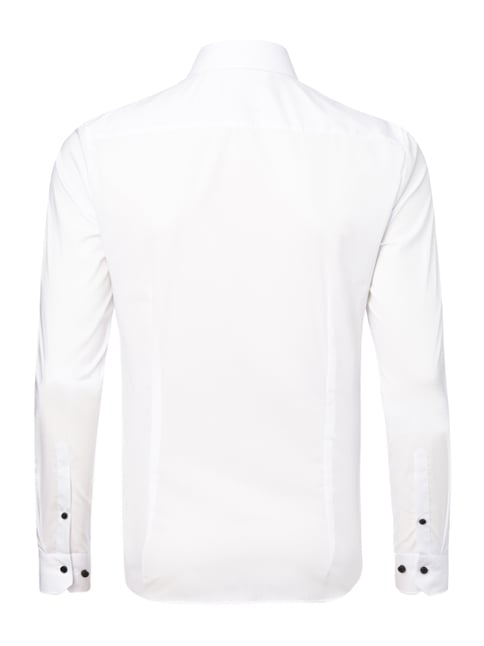 OLYMP No.6 Super Slim Fit Business-Hemd mit Stretch-Anteil Weiß - 1