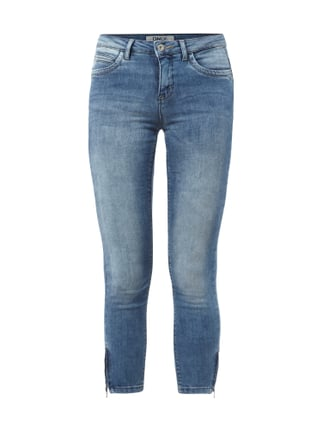Ankle Cut Stone Washed Jeans Blau / Türkis - 1