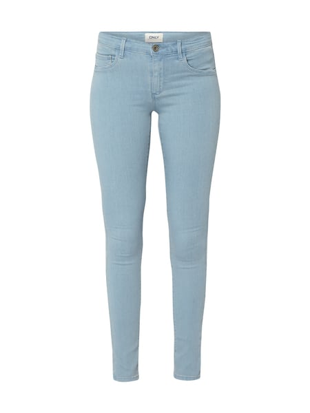 Only Bleached Skinny Fit 5-Pocket-Jeans Jeans