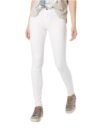 Only Coloured Skinny Fit 5-Pocket-Jeans Offwhite - 1