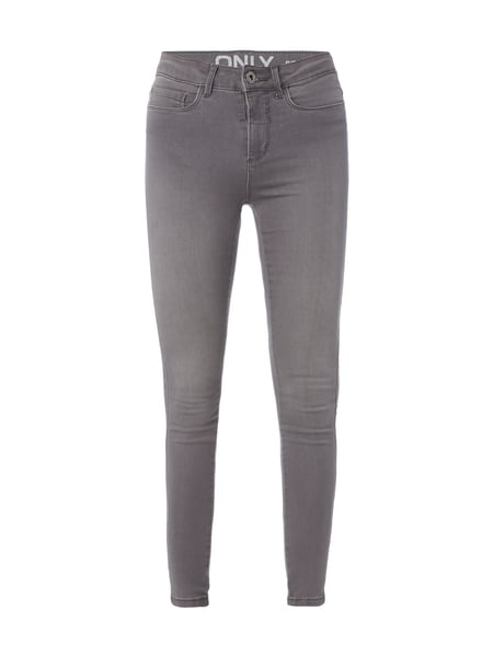 Only Coloured Skinny Fit Jeans Mittelgrau